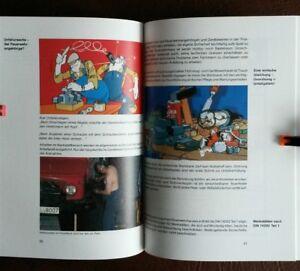 Feuerwehr Feuerwehrhaus Feuerwehrmann Brandschutz 1987 Comic Baguv Feuerwehrauto Reich An Poetischer Und Bildlicher Pracht Alte Berufe Antiquitäten & Kunst
