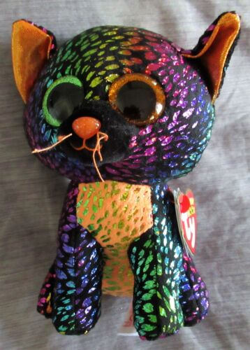 SPELLBOUND the Cat - TY Boo 2018 Claires Halloween Exclusive 6 - NEW & MINT TAG
