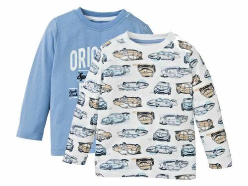 Langarmshirt jungen Doppelpack Kind Baby Pullover 86-116