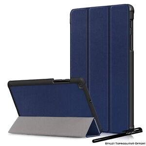 Coque-Smart-Bleu-Premium-pour-Samsung-Galaxy-Tab-A-8-0-2019-SM-T290-T295