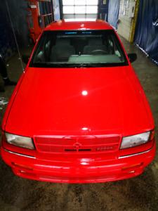 1992 Dodge Spirit Turbo 5 Speed Sleeper
