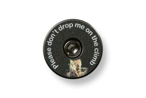 Pleading Kitty Bikelangelo 1 1//8 Headset Top Cap