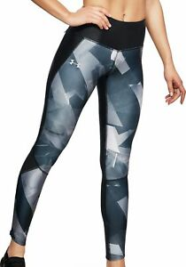 Giotto Dibondon Impresionante Departamento  Under Armour Fly Fast Printed Womens Long Running Tights - Black | eBay