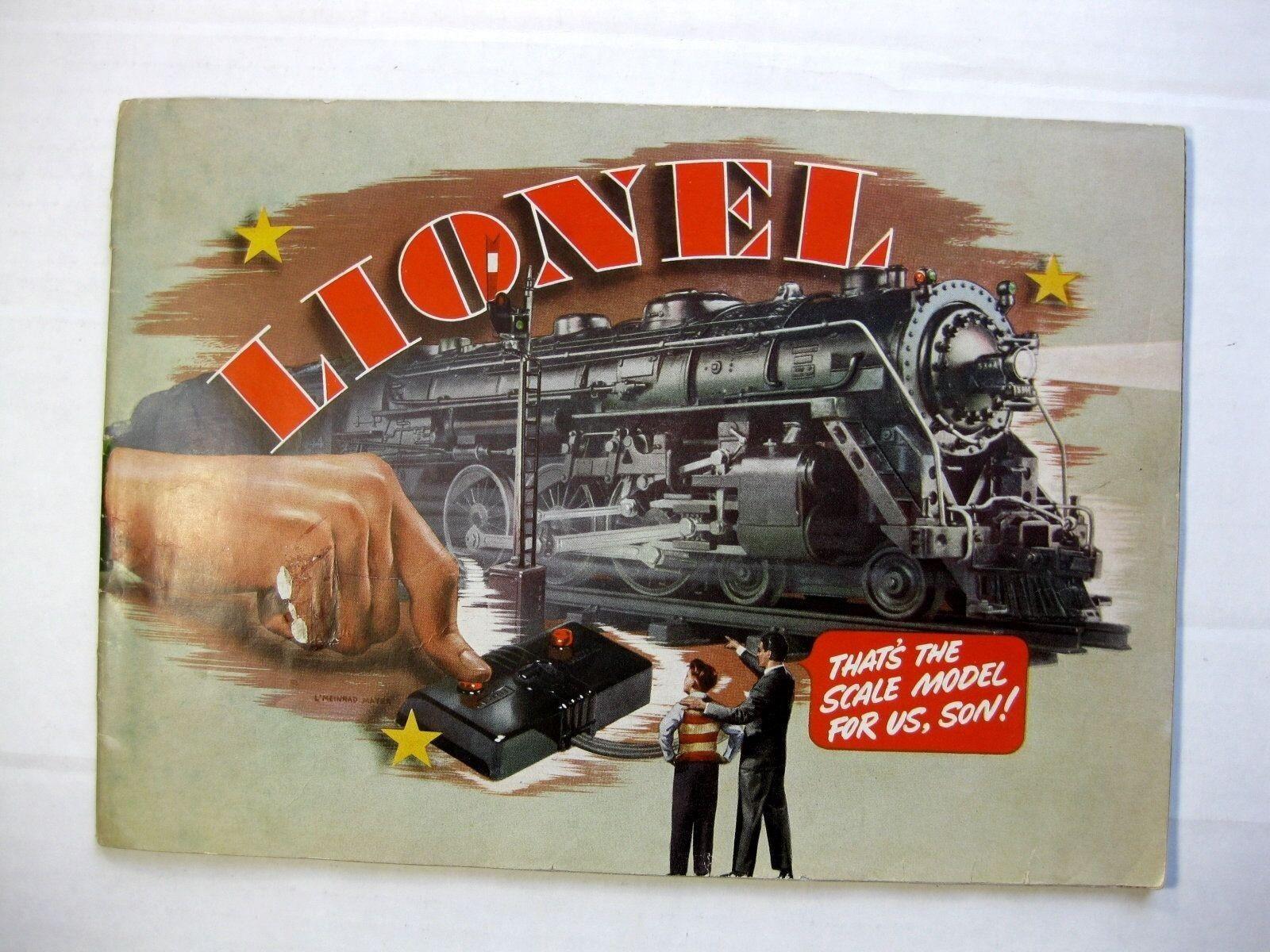Super Cool 1940s Lionel Electric Train Catalog Fun Streamline Style Trains