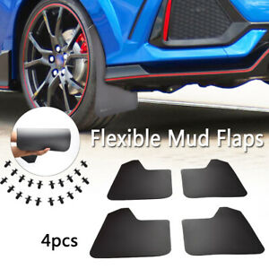 XUKEY-4PC-Mud-Flaps-Splash-Guards-Mudguards-For-Honda-Civic-Type-R-S-Coupe-Si