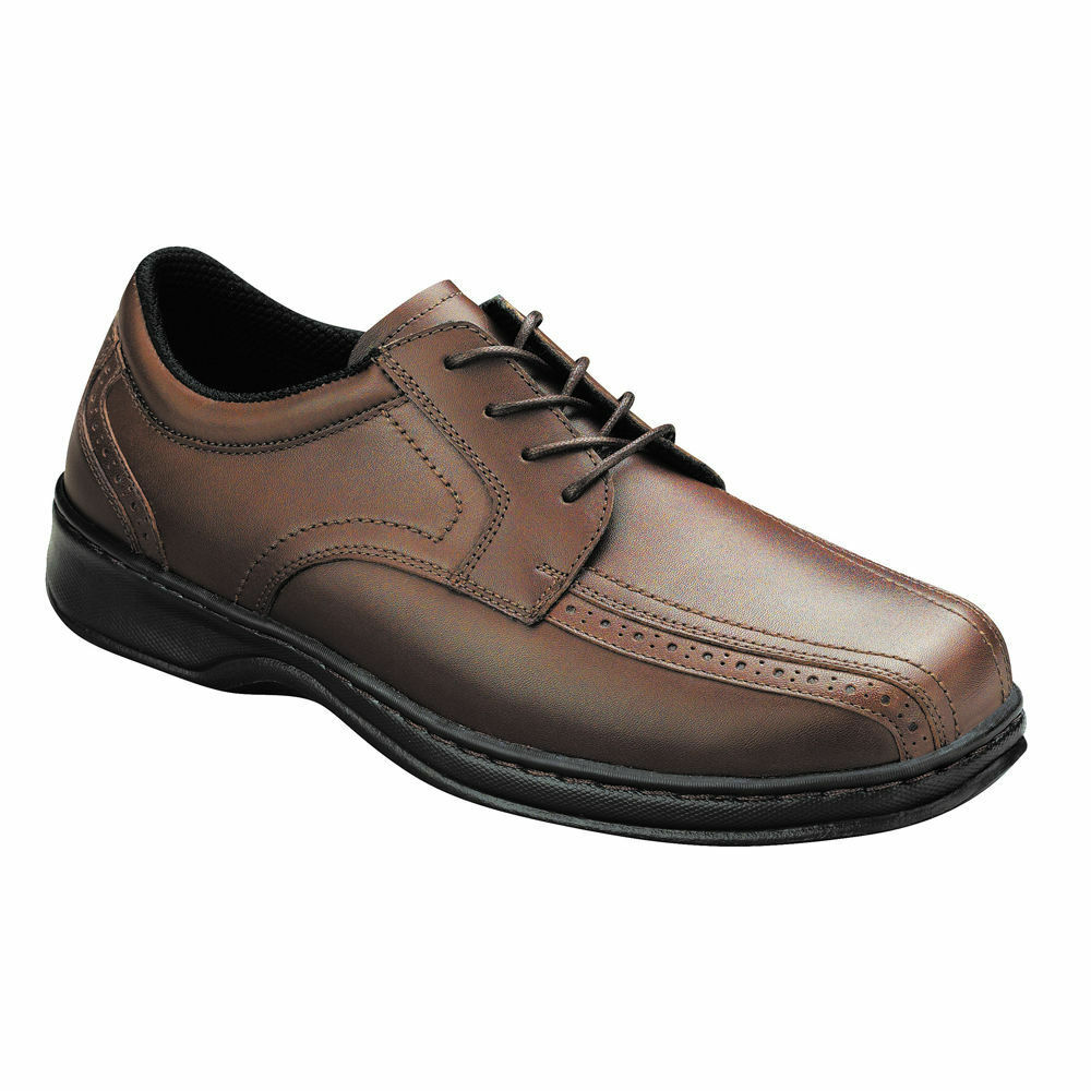 ORTHOFEET MEN'S Gramercy Orthopedic Diabetic Schuhes Oxford LACE Schuhes Diabetic BROWN 11.5 XW 083ef3