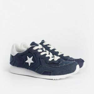 Details about Converse x JW Anderson Thunderbolt Ox Low Top Denim Mens Size 160796c New