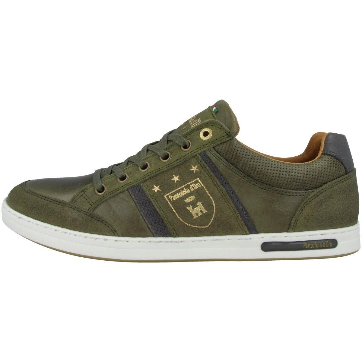 Pantofola D gold Mondovi men Low Men ´S shoes Men's Sneakers Olive 10191017.52A