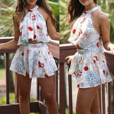 Sexy Women Ladies Summer Clubwear Playsuit Party Jumpsuit&Romper Short Trousers