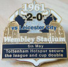 Tottenham Hotspur V Leicester City los pines 1961 FA Cup final victoria Danbury Mint