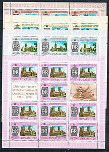 Tuvalu 1978 25th Anniversary Coronation SHEETS SG 8992 MNH - <span itemprop=availableAtOrFrom>Buntingford, Hertfordshire, United Kingdom</span> - All items to be returned within 14 days Most purchases from business sellers are protected by the Consumer Contract Regulations 2013 which give you the right to cancel  - Buntingford, Hertfordshire, United Kingdom