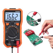 Digital Multimeter True Rms Ncv Acdc Voltage Current Resistance Meter Tester