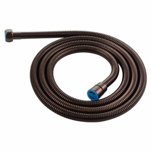 """79/"""" Extra Long Oil Rubbed Bronze Shower Hose Stainless Steel Handheld Extension"""