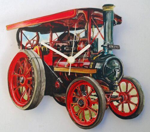 Traction Engine-Horloge WT33