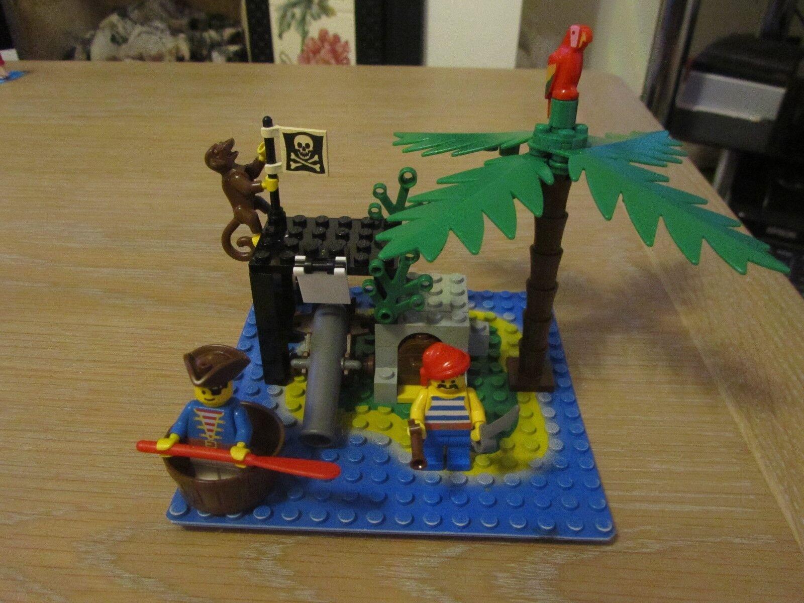 VINTAGE LEGO 6260 PIRATES SHIPWRECK ISLAND 100% 100% 100% COMPLETE 5d1eef