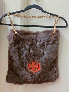 Tory-Burch-Rabbit-Fur-Handbag-Purse