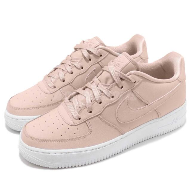 new style 24acb f05f3 Nike Air Force 1 SS GS AF1 Silt Red Pink White Kid Youth Women Shoes  AV3216-600