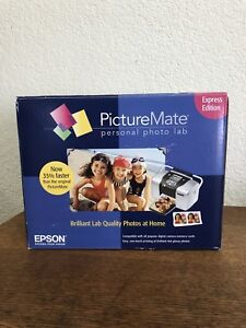 NEW-Epson-PictureMate-Personal-Photo-Lab-Express-Edition-Printer-New-in-Open-Box