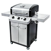 Char Broil Signature 3 Burner Stainless Steel 425 Square-inch Propane Gas Grill on sale