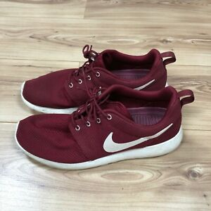 estilo máximo venta oficial disfruta del precio inferior Nike Roshe Run in Team Red / Sail Colourway Size 10 | eBay