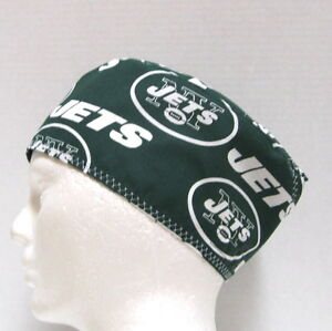 bd37c240e7563 Image is loading New-York-Jets-Mens-Scrub-Hat-Surgical-Cap-