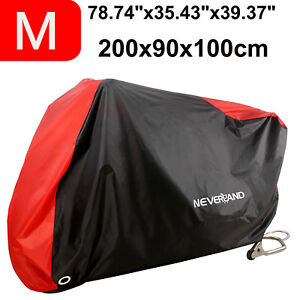 M-Motorcycle-Motorbike-Bike-Cover-Waterproof-Outdoor-Rain-Dust-Scooter-Protector