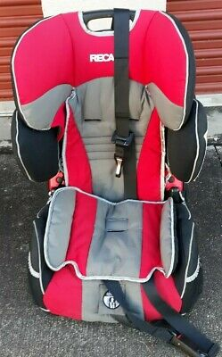 Recaro Performance Sport Combination Child Car Seat Harness To Booster Red Black Ebay