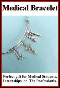 PHARMACIST-RN-LPN-EMT-PA-related-Charms-Expendable-Steel-Bangle-Bracelet