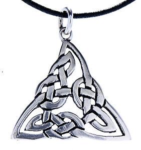 Celtic Knots 925 Silver pendant Silver Chain Celtic Knot Triangle No 108
