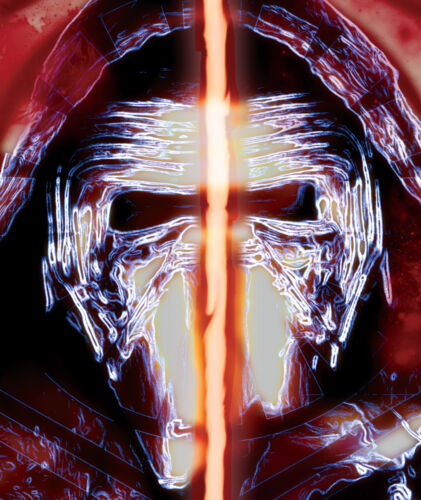 Kylo Ren Rey Star Wars The Force Awakens 11 x 17 print lot