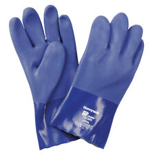 10 Pairs Heavy Duty Pvc Gloves North By Honeywell Pro Chem Size Large
