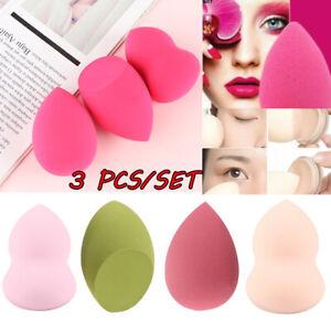 3Pcs-Suave-Belleza-Fundacion-Blending-Maquillaje-Esponja-Mezcladora-Impecable-Buffer-Puff