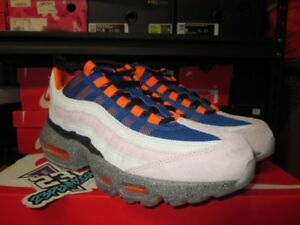 Details about SALE NIKE AIR MAX 95 KING OF MOUNTAIN MOWABB CHAMPAGNE SAFETY  ORANGE AV7014 600