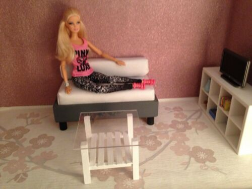 1//6 scale doll size coffee table for barbie dolls..more colours!!