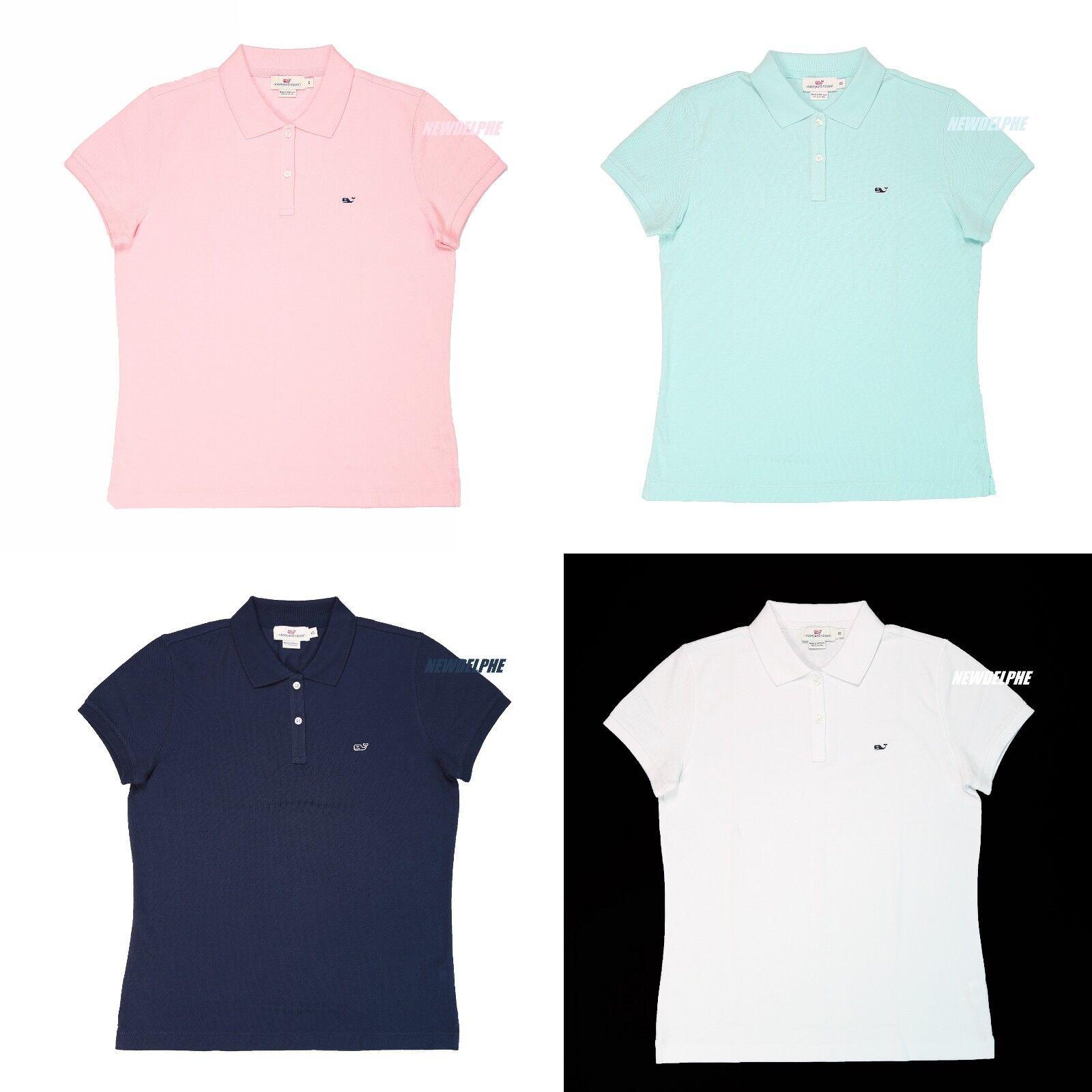 NWT Vineyard Vines Woherren Polo Shirt Whale Logo Classic-Fit XS S M L XL