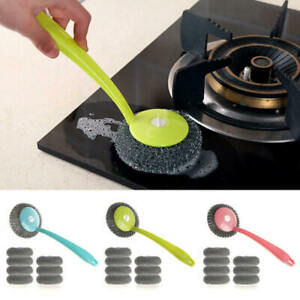 Kitchen-Cleaning-Brush-Stainless-Steel-Wire-Ball-Dish-Metal-Cleaning-Brush-Scrub