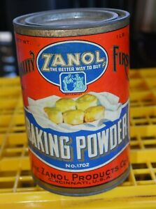 Vintage-1lb-ZANOL-Baking-Powder-tin-Cincinnati-5-034-tall