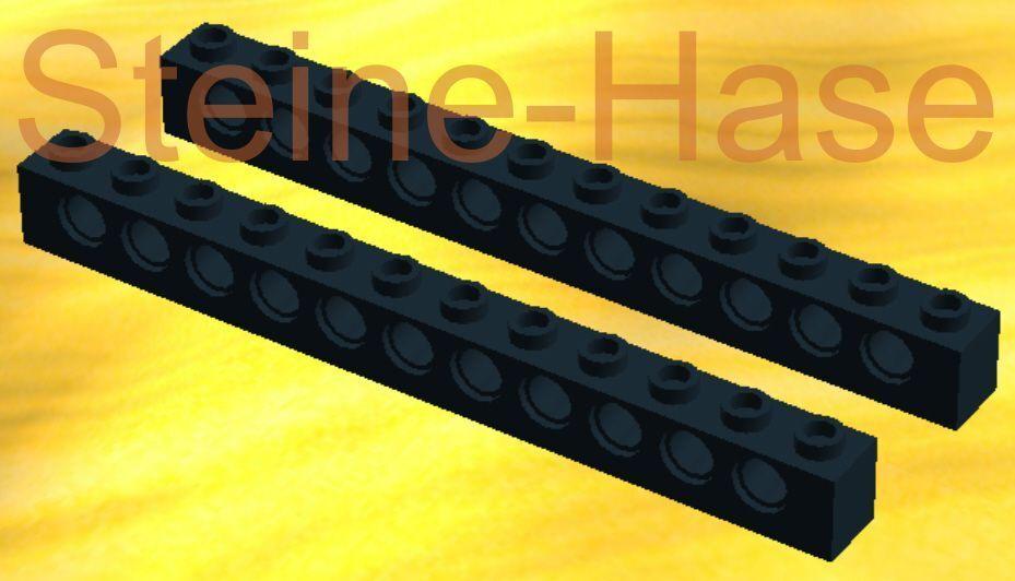 Lego® 1 x Technik Lochstein Lochbalken 1x12 dunkelgrau *Neu* #3895