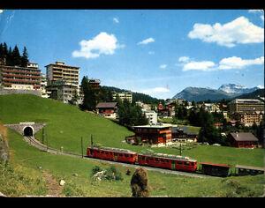 AROSA-SUISSE-TRAIN-aux-HOTELS-amp-RESIDENCES-en-1970