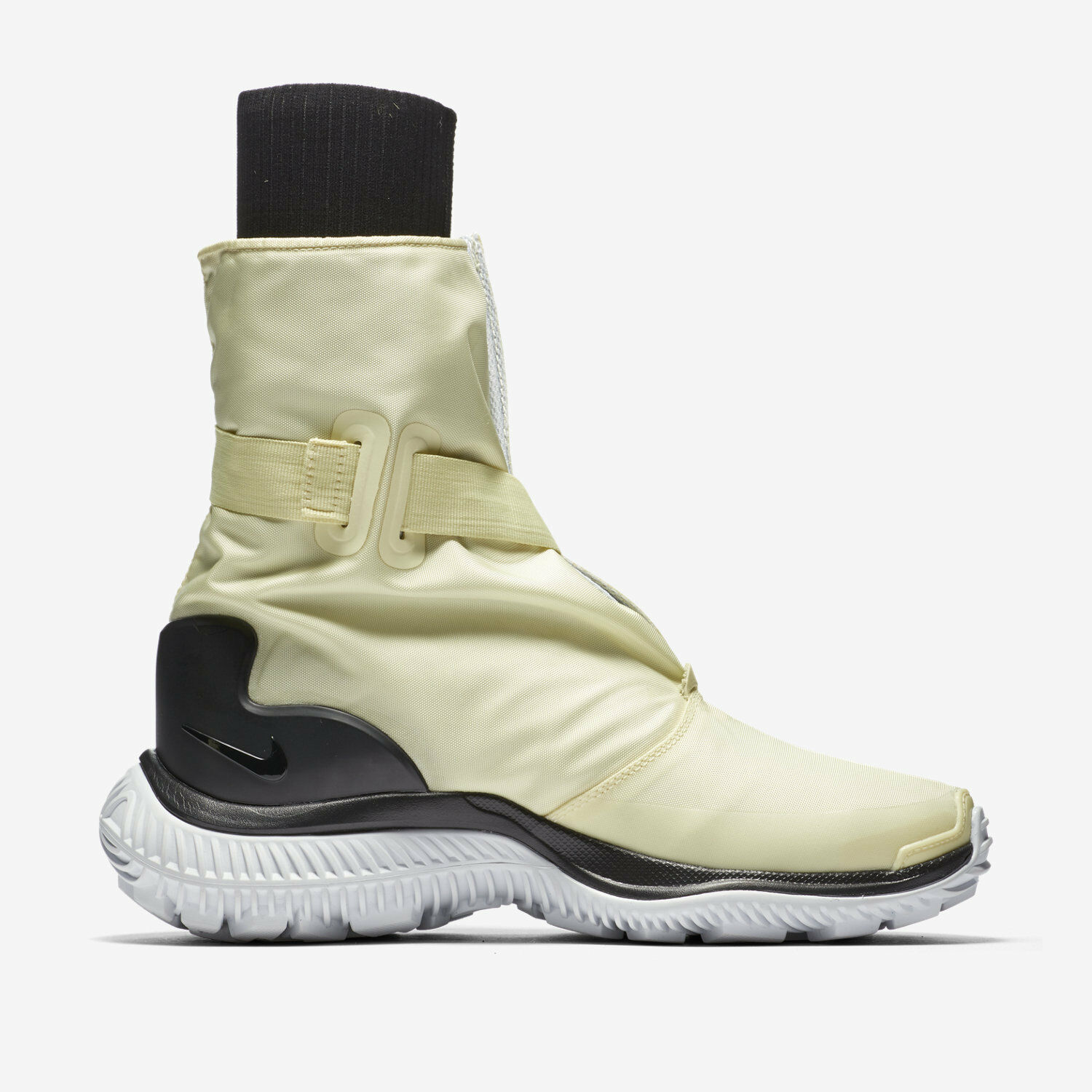 NIKE LAB NSW Gaiter Boot Women's Sz 11 11 11 Yellow Pale Citron Black AA0528 700  250 0c72f9
