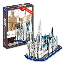 New York St. Patrick's Cathedral Neo Gothic Style 3D Puzzle (117 pcs) New