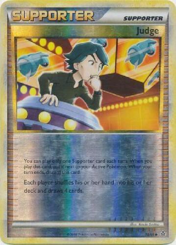 Uncommon Reverse Foil new HGSS 78//95 Judge Unleashed Pokemon