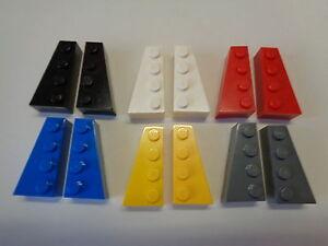 41747 y 41748 Lego 2 pares de L/&R 2x6 Cuña PT elige tu color!