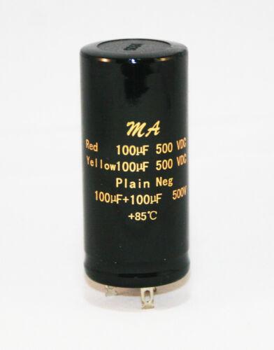 50+50uf 100+100uf 32+32uf 16+16uf 500v Audio Electrolytic Smoothing Capacitors
