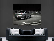 NISSAN SKYLINE GTR SPORTS CAR GIANT POSTER ART PICTURE PRINT LARGE