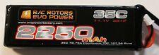 R/C Rotors Evo Power 2250mah 3s Lipo 35C  DJI Phantom
