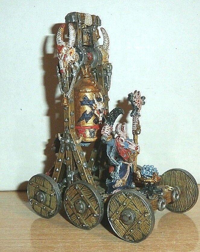 28mm GW  Warhammer fantasyc Skaven Screaming Bell- painted  metal  alta qualità genuina