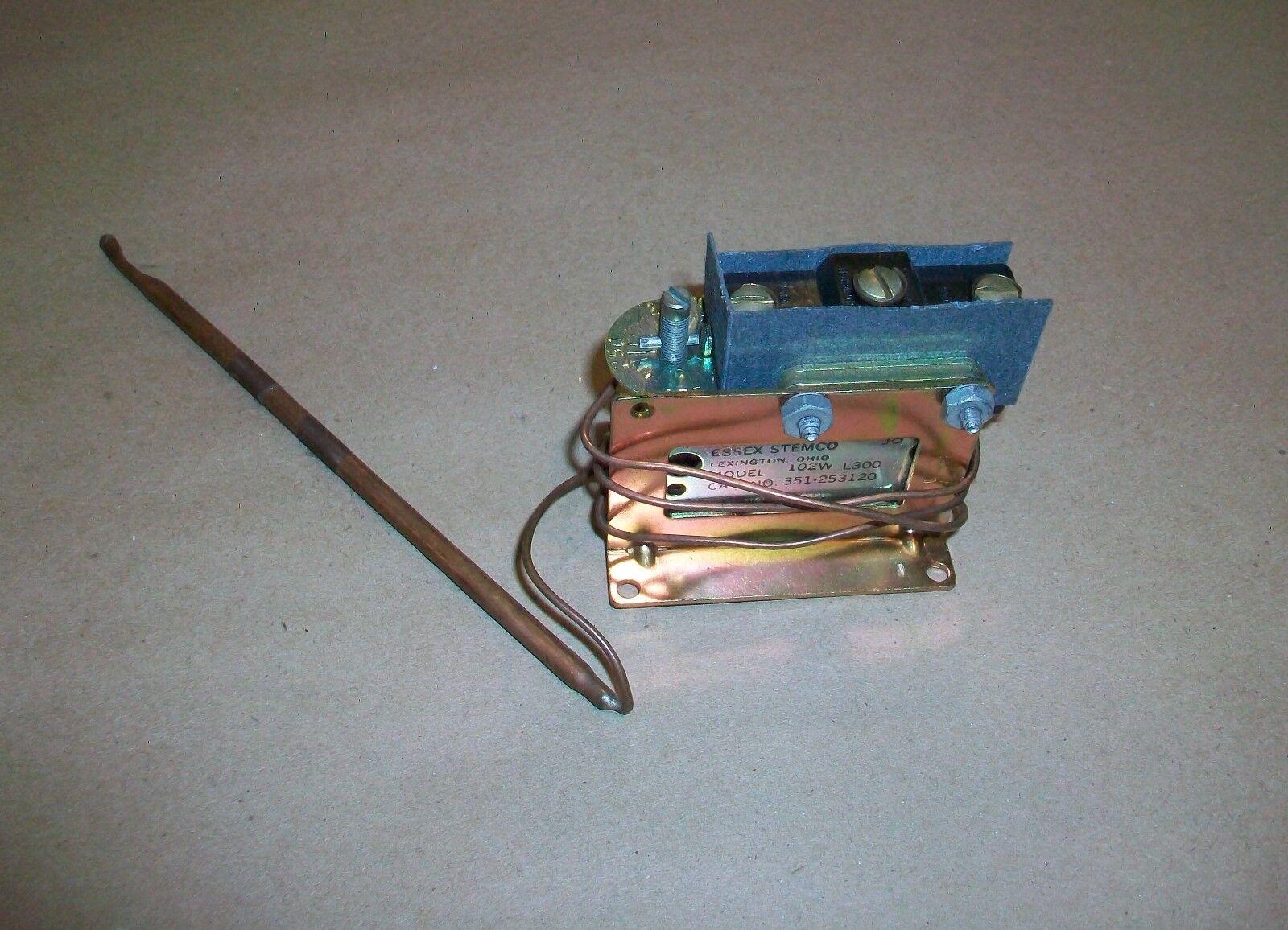 Essex Stemco Thermostat 102W L300    351-253120  NEW