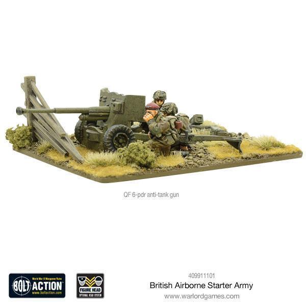 Bolt Action 409911101 409911101 409911101 WWII British Airborne Starter Army Box Set Red Devils NIB 9cdfd6