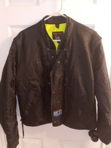 Vanson Leather Vintage Motorcycle Jacket size 46